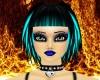 Turquoise & Black Mia