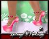 Rose Blossom Heels