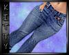 ! Tight Skinny Jeans Blu