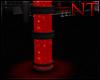 Red Bubble Pillar