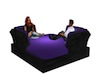 Purple Group Couch