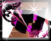 Onyx/Pink Bracelet