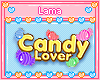 Candy Lover Sign