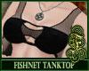 Fishnet Top Black