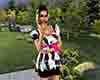 Zebra Party Dress