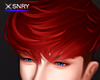 Kiyo hair . red