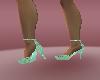 coolgreengreyheel shoes