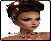 American Flag BrownPinup