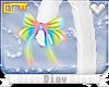 *D* White Kitty Tail V3