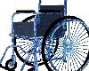 Blue Wheel Chair