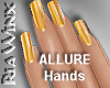 Butterscotch Nails