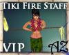 *AZ* Tiki Fire Staff spn