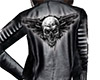 Skull Leather Jacket (F)
