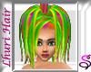 *Rainbow Emo Punk hair
