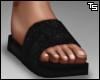 Ts. Black Slides. F
