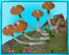 Mushroom Tree Stump Seat
