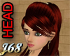 J68 Teena Head Red Brows