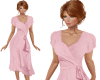 TF* Pink Wrap Dress