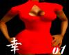 *~T~*Bonita Dress V1 Red