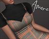 $ Autumn Dress+Top  L