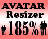 Avatar Scaler 185% / F