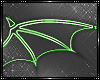 [AW] Green Neon Wings