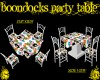 BOONDOCKS PARTY TABLE