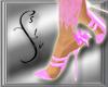 Light Pink Lace Heels