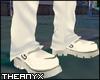 Short White Boots