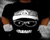 $HE$ Black Skull T-Shirt