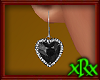 Diamond Heart Onyx ER