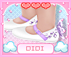 !D! Kids Lilac Shoes