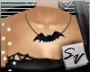 {S}Bat Necklace