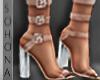 ṩ|3 Strap Heel Nude