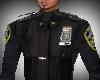 Black Policeman Shirt