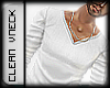 .::.Clean White V-Neck