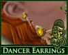 Dancer Earrings Amber