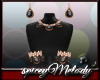 Licorice Jewelry Set