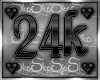 24k SUPPORT STICKER