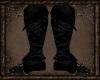 Ebony Leather Boots