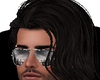 pelo largo negro