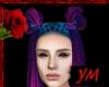 *Y* Blue purple demoness