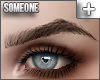 + pointed brows brown