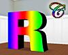 Rainbow R Animated
