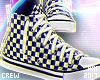 ♥ Checkers Chucks