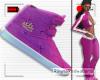 R* F. Title Kicks Pink