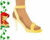 lemon blush sandals
