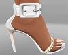 Brittney White Sandals