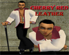 URBAN Red Hooded jacket