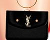 (MD)*Fashion black bag*